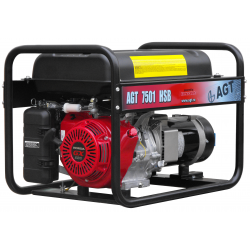 Generator de curent AGT 7501 HSB, Motor HONDA GX 390, R26