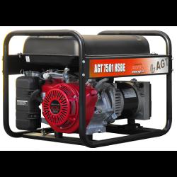 Generator de curent AGT 7501 HSBE, Motor HONDA GX 390