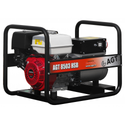 Generator de curent AGT 8503 HSB, Motor HONDA GX 390