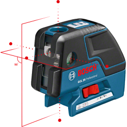 Nivelă laser multifuncţională BOSCH GCL 25