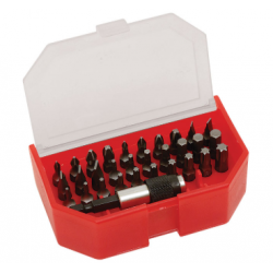 Set 30 bituri + port bit magnetic 1/4""