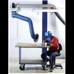 Kit extractie STANDARD, brat standard 2m cu ventilator N16 si suport prindere