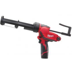 Pistol aplicare silicon cu acumulator, Milwaukee model M12 PCG/310C-201B, 310ml