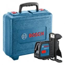 Nivelă laser cu linii Bosch GLL 2-15 + BM3 / valiză plastic