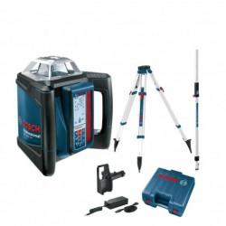 Nivelă laser rotativă Bosch GRL 500 H + LR 50 + BT 170 + GR 240